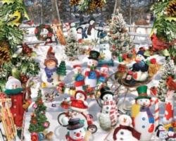 Jigsaw Puzzles - Snowmen