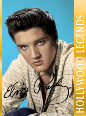 Elvis Presley - 1000pc Jigsaw Puzzle by White Mountain