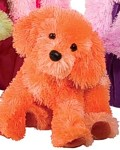 Tango Tangerine Pup - 14'' Dog by Douglas Cuddle Toys