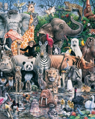 Family Reunion - 1000pc Jigsaw Puzzle by White Mountain