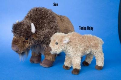 Sue - 11'' Buffalo By Douglas Cuddle Toys