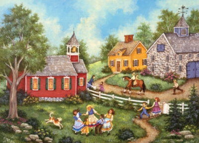 School's Out for the Summer - 500pc Jigsaw Puzzle by Masterpieces