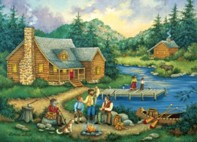Fish Tales - 500pc Jigsaw Puzzle by Masterpieces