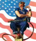 Norman Rockwell: Rosie the Riveter - 500pc Jigsaw Puzzle in Tin by Masterpieces