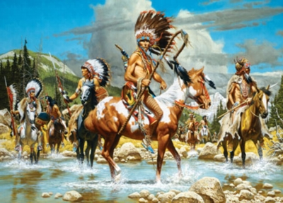 The Chiefs - 500pc Jigsaw Puzzle by Masterpieces