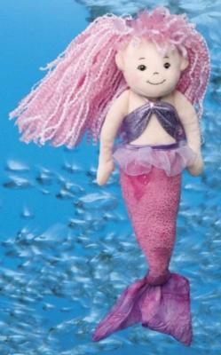 Large Mermaid - 16'' Mermaid By Douglas Cuddle Toys
