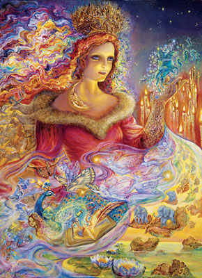 Josephine Wall: Magic - 1000pc Jigsaw Puzzle in Tin by Masterpieces