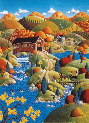 Scenic Route: Good Neighbor - 1000pc Jigsaw Puzzle in Tin by Masterpieces
