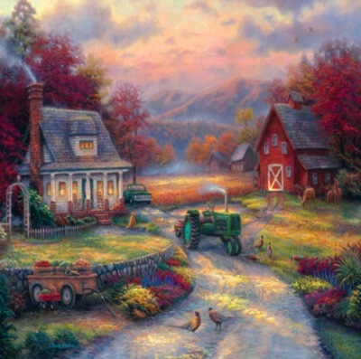 Farm Country: Afternoon Harvest - 1000pc Jigsaw Puzzle by Masterpieces
