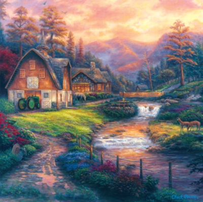 Farm Country: Steps off the Appalachian Trail - 1000pc Jigsaw Puzzle by Masterpieces