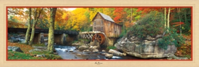 Glade Creek - 1000pc Panoramic Jigsaw Puzzle by Masterpieces