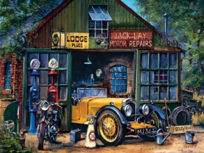 Vintage Motors - 2000pc Jigsaw Puzzle by Masterpieces