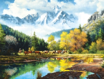 Bringing in the Horses - 3000pc Jigsaw Puzzle by Masterpieces
