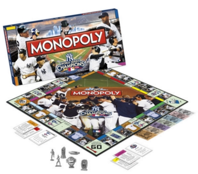 Monopoly: New York Yankees 2009 World Series Edition - Board Game