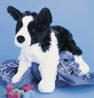 Shep Border Collie - 9'' Dog By Douglas Cuddle Toys