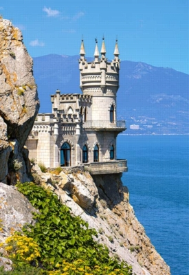 Swallow's Nest, Crimea - 1500pc Jigsaw Puzzle by Castorland