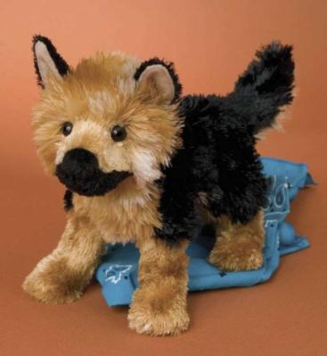 Jordan German Shephard - 9'' Dog by Douglas Cuddle Toys