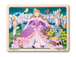 Melissa and Doug Jigsaw Puzzles for Kids - Woodland Princess