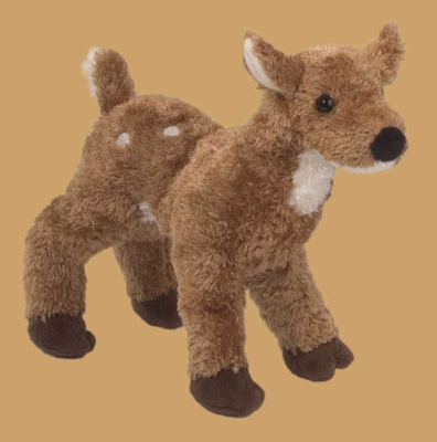 Fiona Fawn - 8'' Deer By Douglas Cuddle Toys