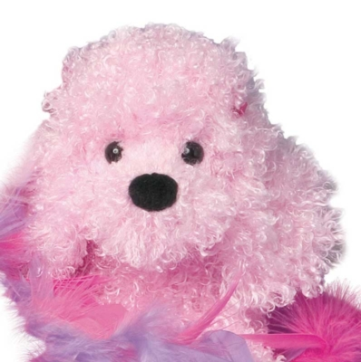 Peppermint Pink Poodle - 9'' Dog By Douglas Cuddle Toys