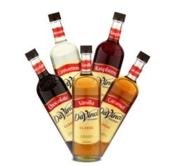Davinci Classic Flavored Syrups - 750 ml. Plastic Bottle Case