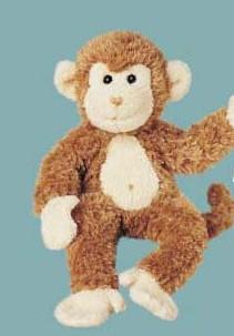 Bongo - 11'' Monkey By Douglas Cuddle Toys