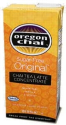 Oregon Chai Tea: Sugar Free Original - 32 oz. Carton Case