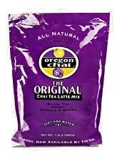 Oregon Chai Tea Mix: The Original - 1.5 lb. Bulk Bag Case