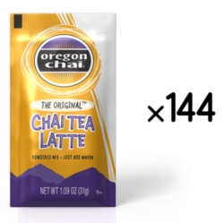 Oregon Chai Tea Mix: The Original - Single Serve Packet Case