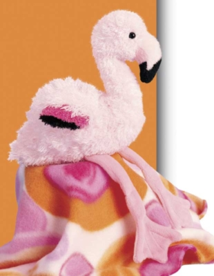 Fanny - 13'' Flamingo By Douglas Cuddle Toys