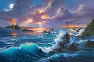 Beauty Of Fury - 1000pc Jigsaw Puzzle by Great American Puzzle Factory