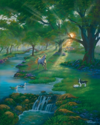 River Life - 1000pc Jigsaw Puzzle by Great American Puzzle Factory