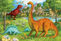 Floor Jigsaw Puzzles For Kids - Dinosaur Pals