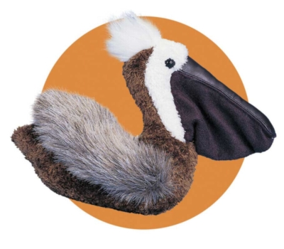 Scoop Brown - 6'' Pelican By Douglas Cuddle Toys