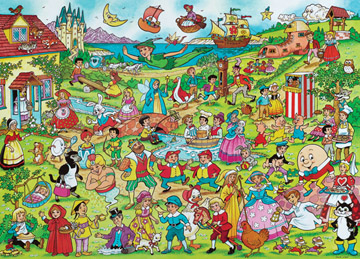 Fairy Tales - 100pc Jigsaw Puzzle by Ravensburger