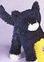 Domino Black - 9'' Cat by Douglas Cuddle Toys