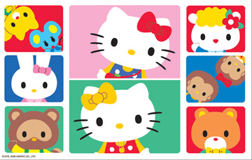 Hello Kitty: Friends - 300pc Jigsaw Puzzle by Ravensburger