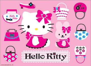 Hello Kitty: Playing with Purses (Tin) - 300pc Jigsaw Puzzle by Ravensburger