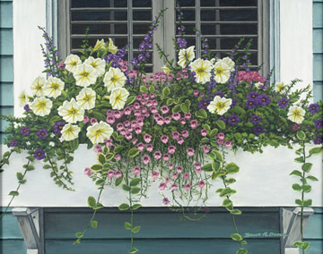 Window Box Beauty - 300pc Large Format Jigsaw Puzzle by Ravensburger
