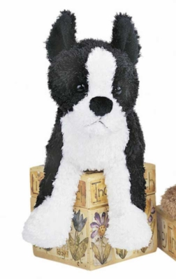 John Boston Terrier - 6'' Dog By Douglas Cuddle Toys