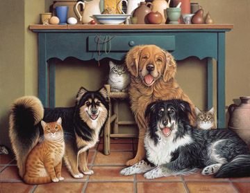 Say Cheese - 500pc Jigsaw Puzzle by Ravensburger