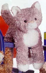 Smudge Gray Cat - 9'' Cat by Douglas Cuddle Toys