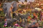 African Animals - 3000pc Jigsaw Puzzle by Ravensburger