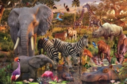 Ravensburger Jigsaw Puzzles - African Animals