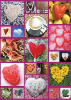 Hearts Abound - 1000pc Jigsaw Puzzle by Ravensburger