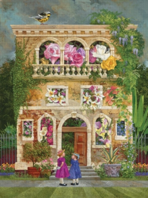 Colorful Garden - 1000pc Jigsaw Puzzle by Ravensburger