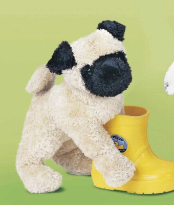 Mr. Tibbits Pug - 9'' Dog by Douglas Cuddle Toys