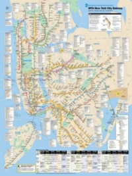 New York City Puzzle - Subway Map
