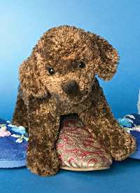 Clem Chocolate Lab - 6'' Dog by Douglas Cuddle Toys