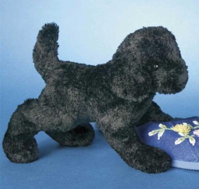 Blackie Lab - 9'' Dog By Douglas Cuddle Toys
